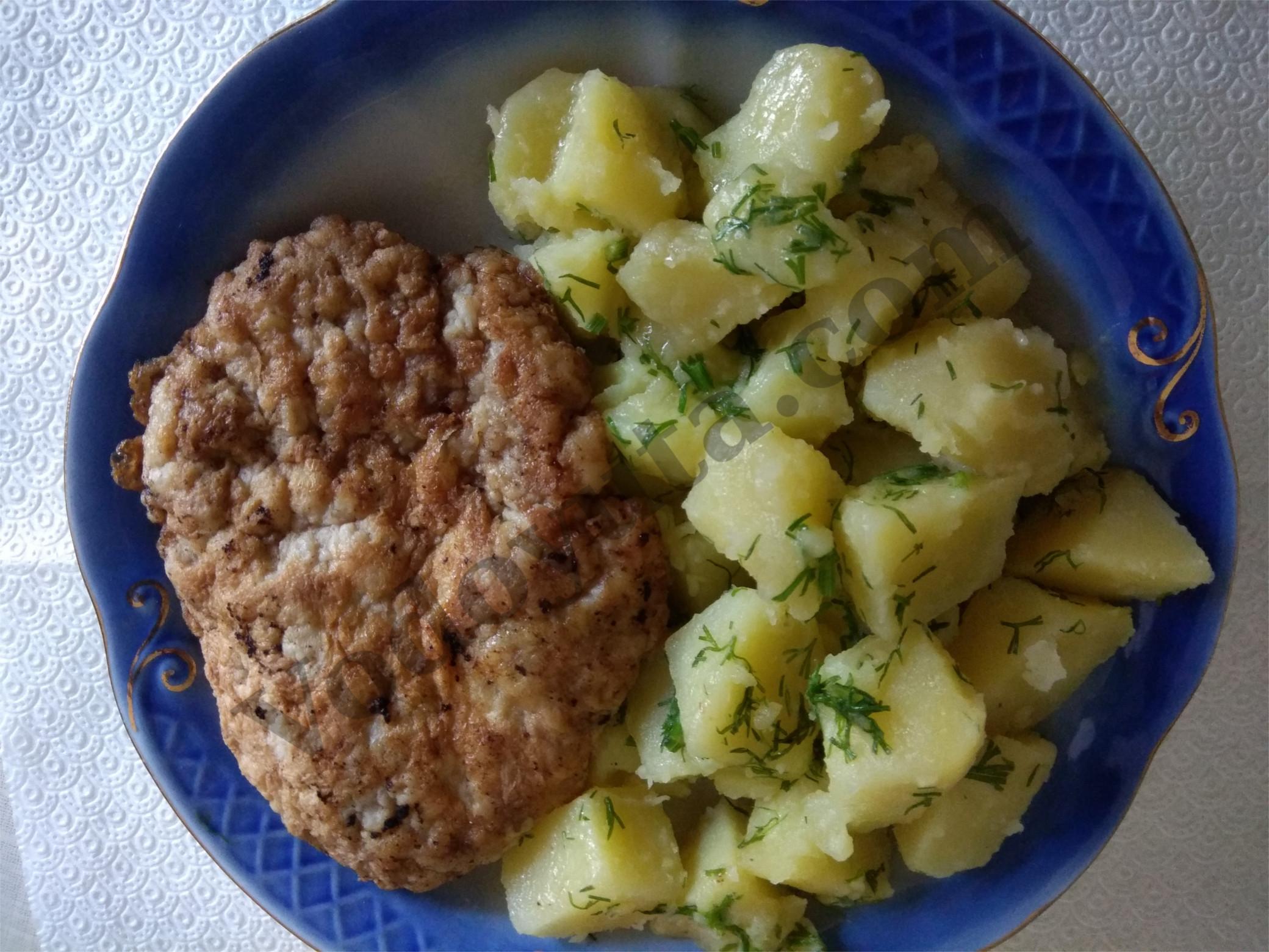 Картошка по-весеннему