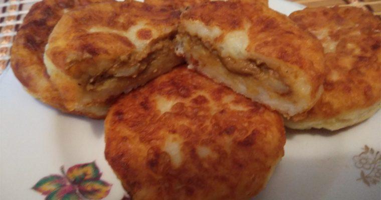 Картофельные зразы с печенкой