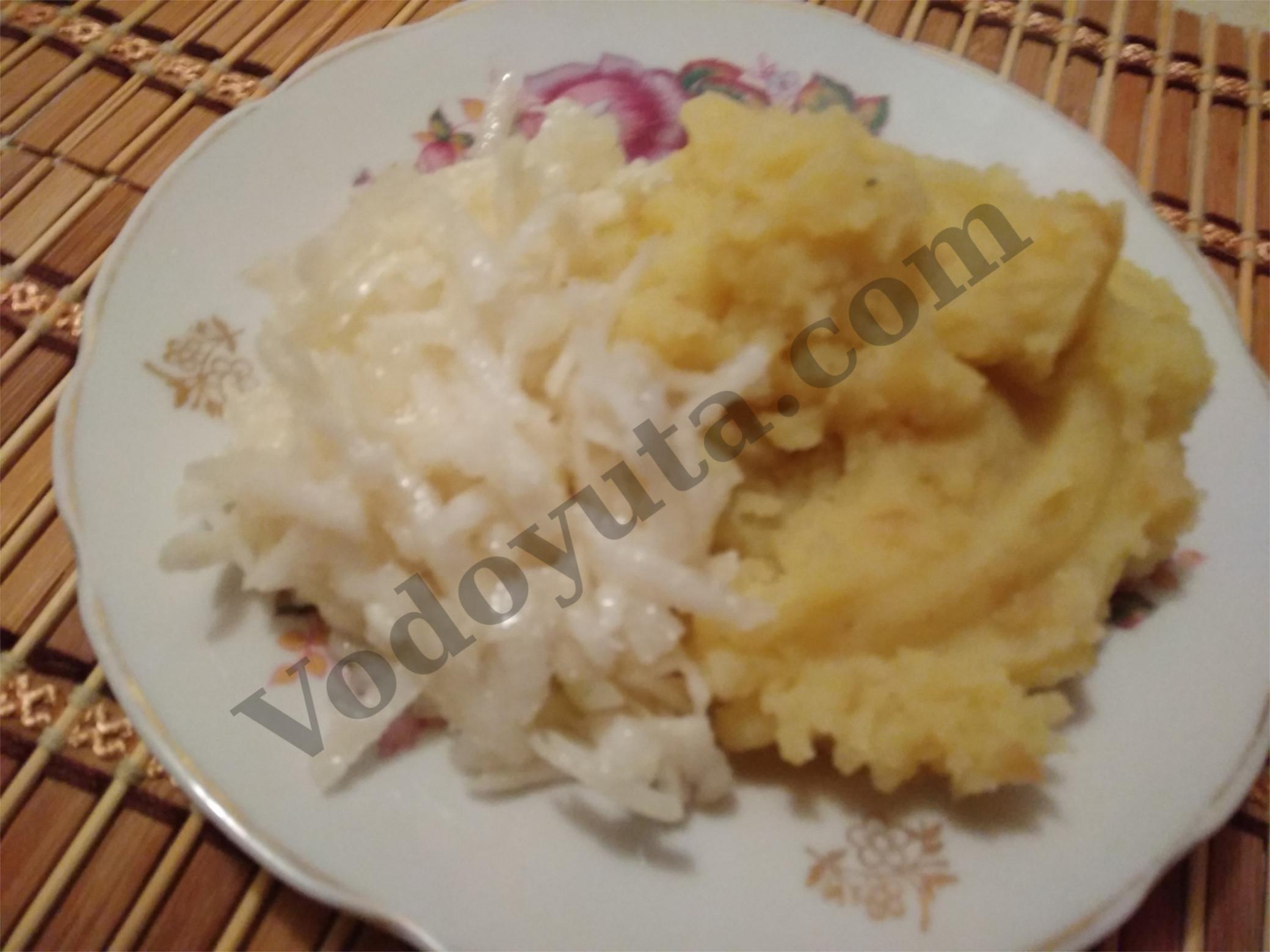 Картофельное пюре (постное)