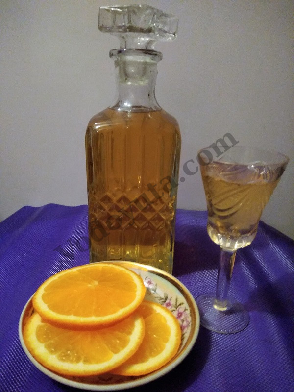 Апельсиновый ликер «Быстрее ветра»