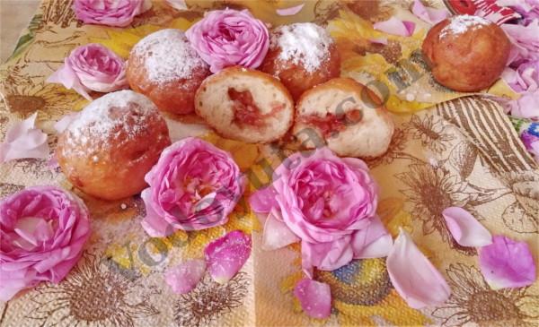 Пончики с чайной розой… Юльетта в гостях у Аленки