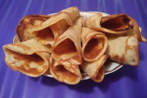 Вафельные трубочки без вафельницы