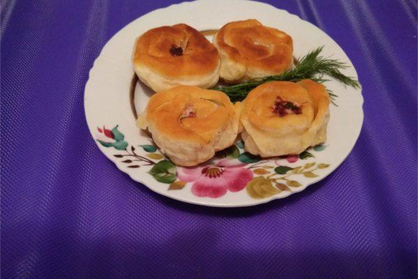 Красивые пирожки. Беляши.
