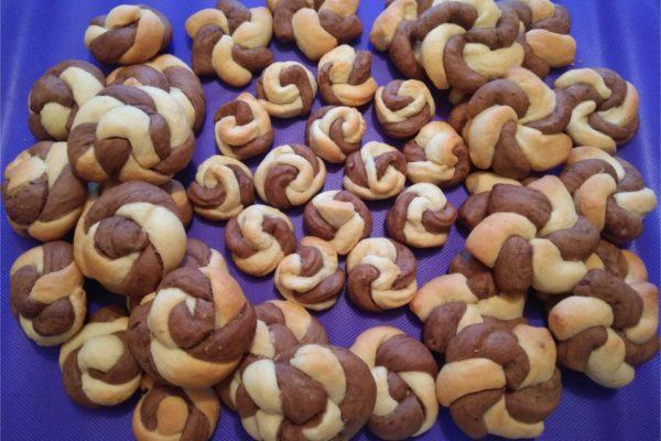 Идеи красивого печенья. Три+ варианта для печенья «Два цвета»