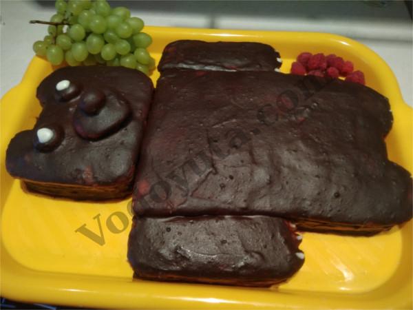 Украшение тортиков. Медовик «Мишка»