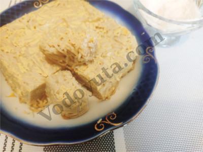 Бабушкины рецепты. Запеканка из вермишели «Бабка» :).