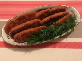 Рыбные палочки с сыром