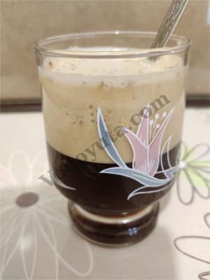 Холодный кофе на минеральной воде