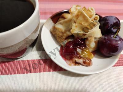Блинный десерт «Светофор»