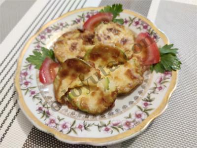 Кабачковые «сэндвичи» с сыром