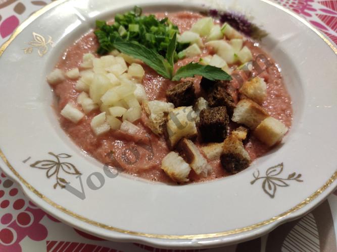 Холодный летний суп «Гаспачо»