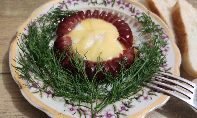 Цветочная яичница