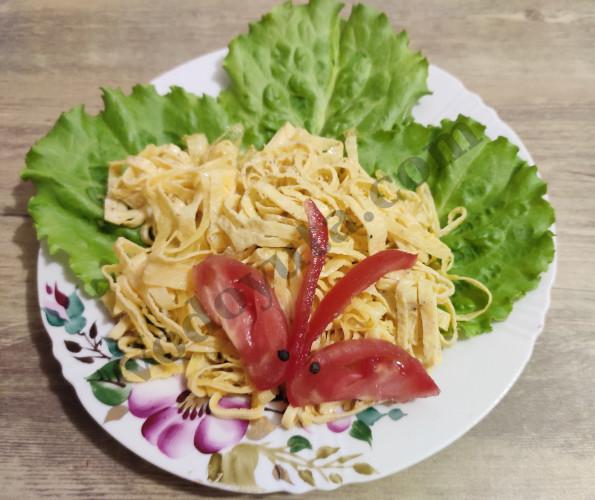 Японский омлет кинси-тамаго
