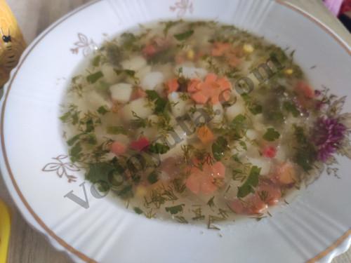 Суп овощной ассорти